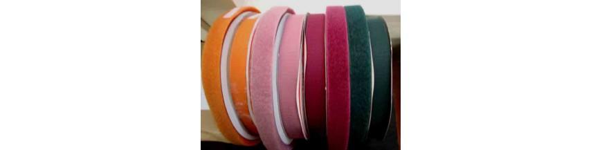 Klitteband opnaaibaar 3 cm breed