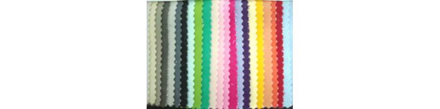 Jeans stretch spijkerstof in diverse kleuren