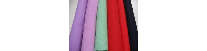 Flanel stof gekleurd